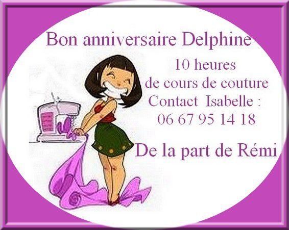 Joyeux Anniversaire Delphine