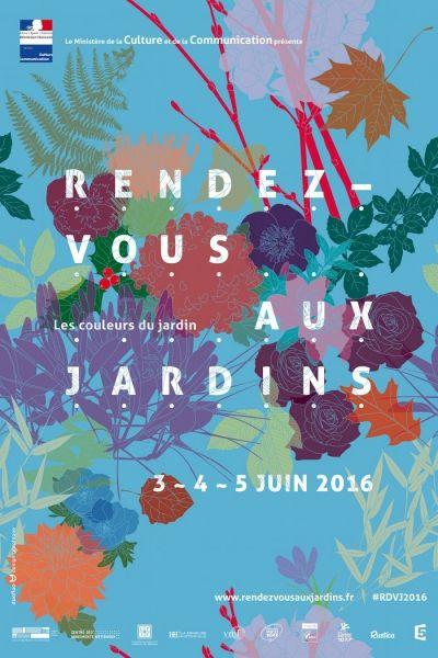 RENDEZ-VOUS AUX JARDINS. Les couleurs du jardin.