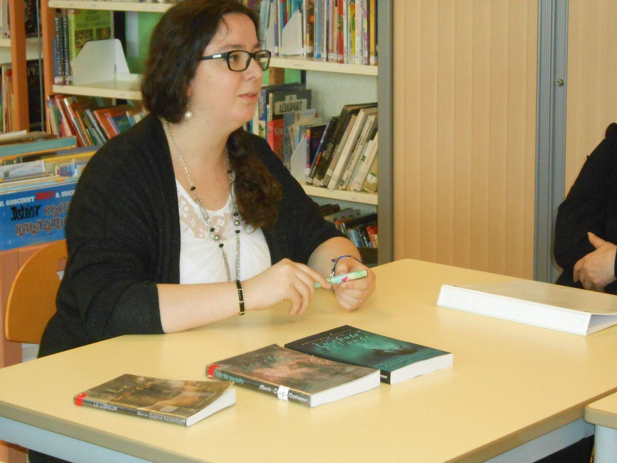 Journée auteur du 23 mai 2016 : Marie-Sophie Kesteman
