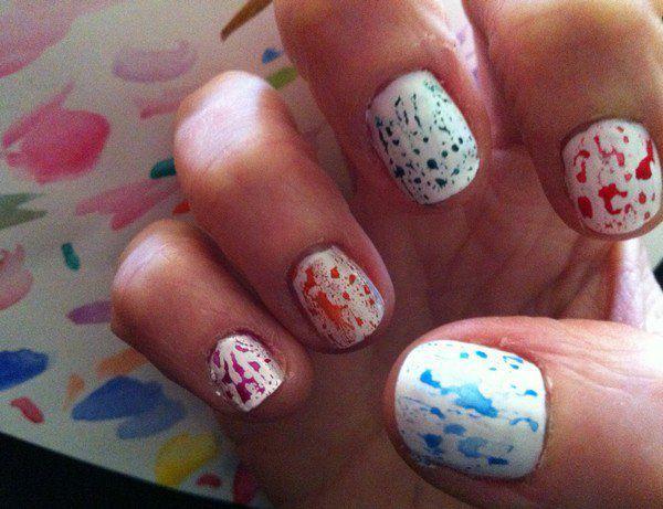 2012  : mes premiers  pas en Nail Art  !