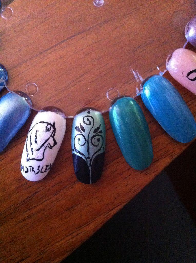 suite Nail Art 2013