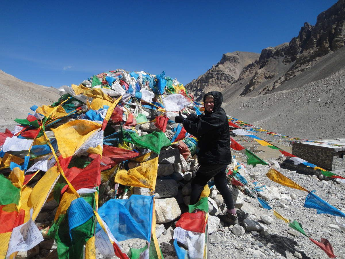 TIBET   /   EVEREST   /    BASE  CAMP5200m  /    MOINES