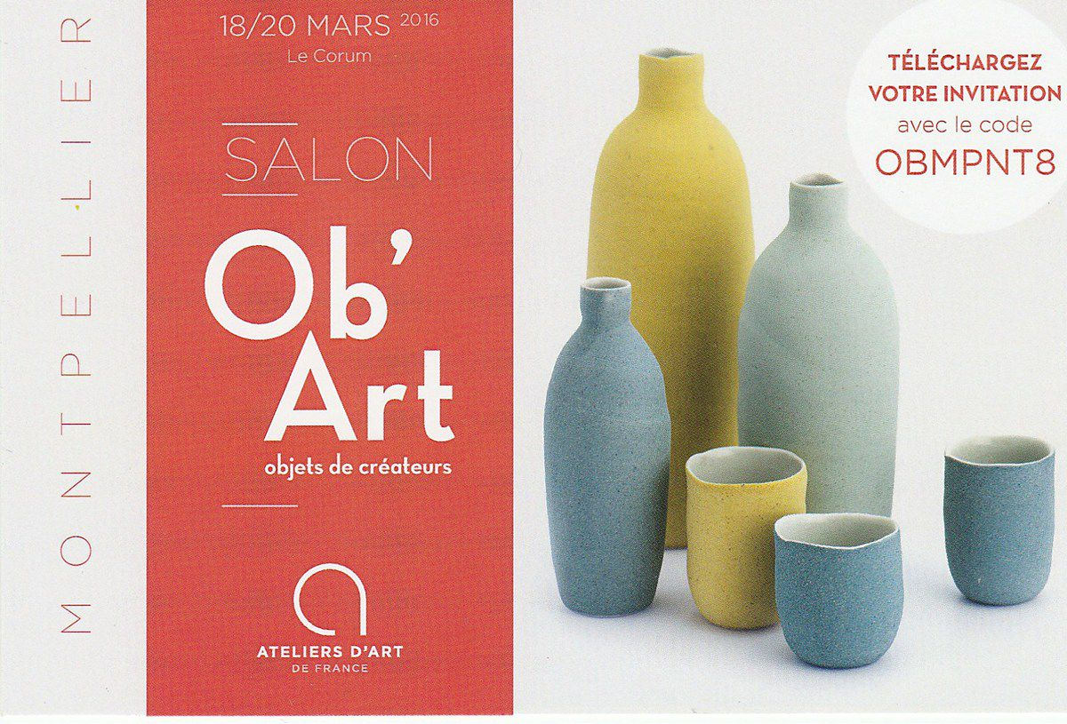 Salon Ob'Art au Corum de Montpellier