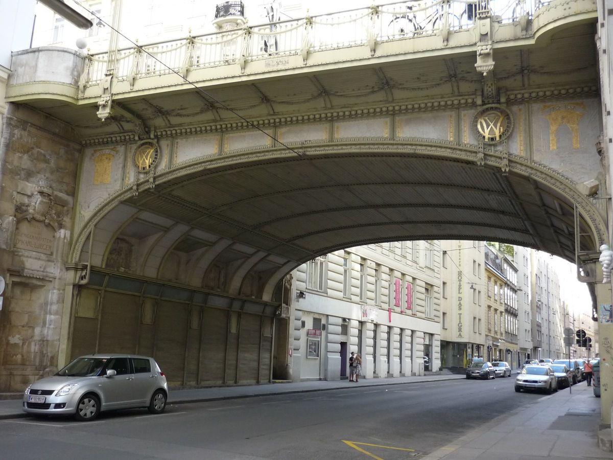 Josef Hackhofer, le « Haut Pont » (1903-1904) et le « Fossé profond »