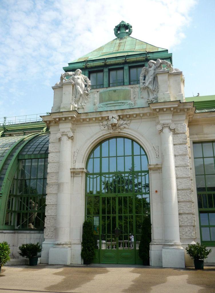 Burggarten, Glashaus, Friedrich Ohmann (1901-1907)