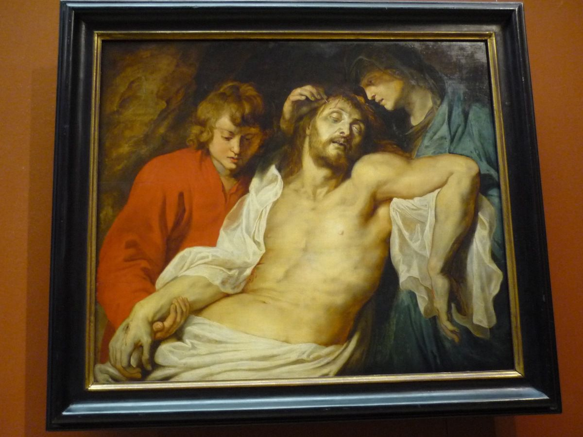 Rubens, Lamentation of Christ by the Virgin Mary and John, c 1614-15