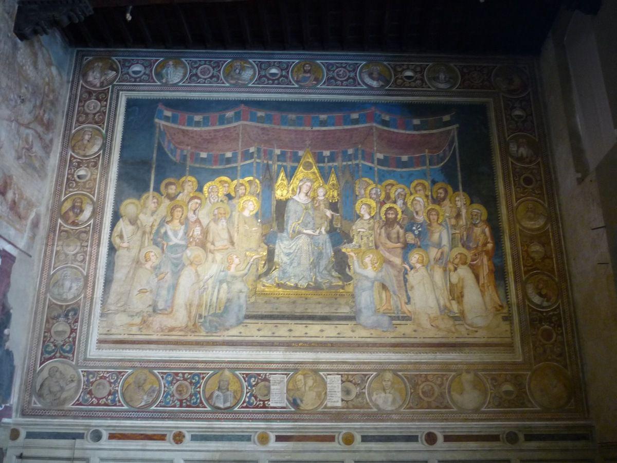 la Maestà du même Simone Martini (1315-21)