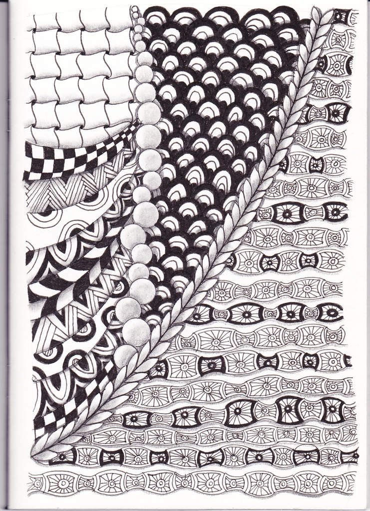Un'tit dessin zentangle