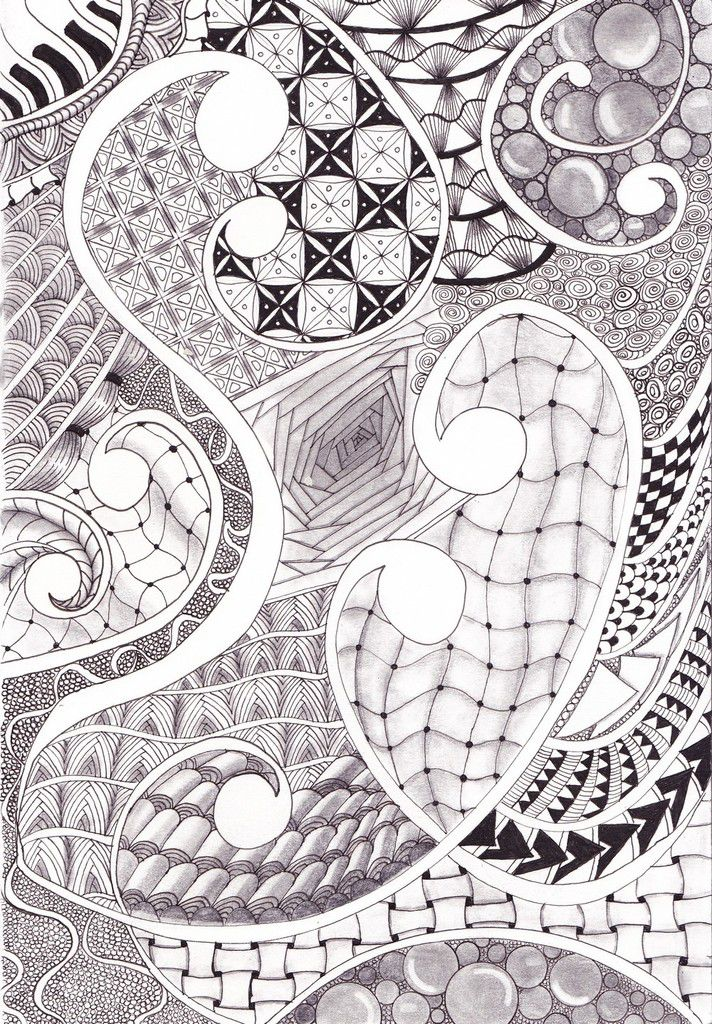 Zentangle addict !