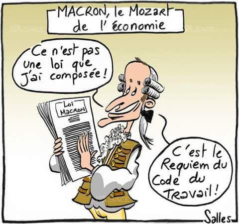 LOI MACRON : le sénat entérine les propositions du Medef
