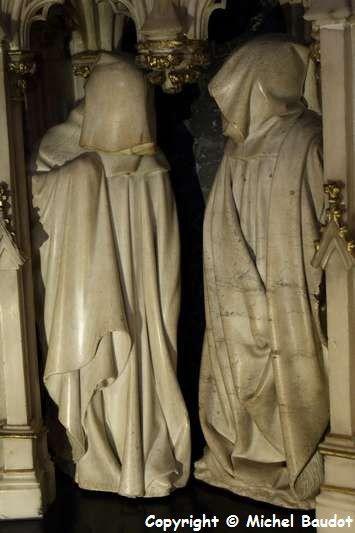 Tombeau des Ducs de Bourgogne - Musée des Beaux Arts de Dijon décembre 2014