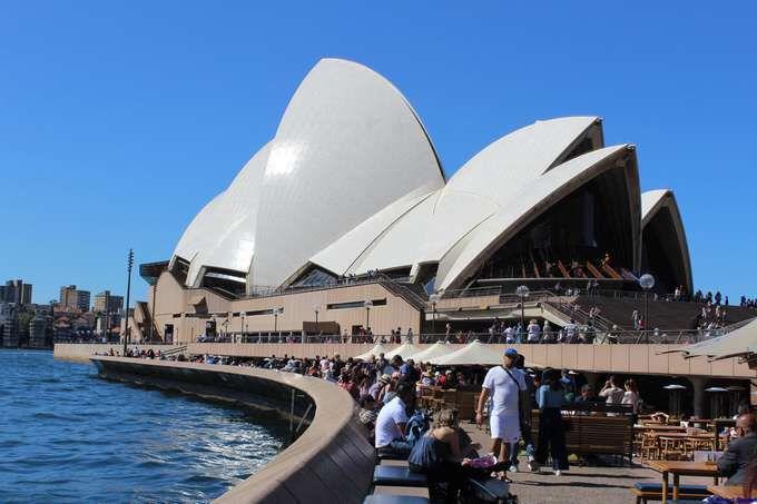 Un rapide regard sur l'AUSTRALIE....
