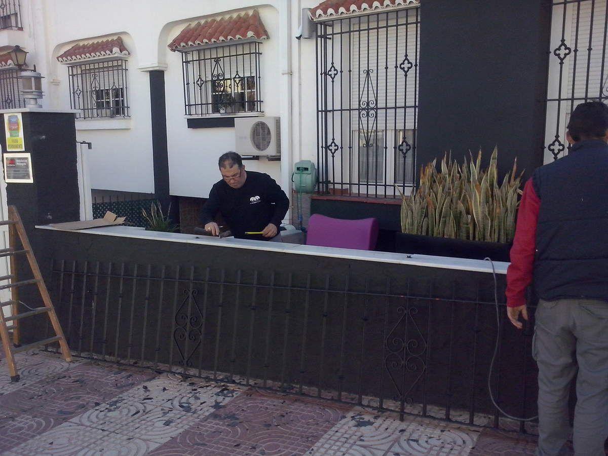 ALUMINIO DE ALTA DENSIDAD Y SEGURIDAD , CELOSIA TIPO VALLA