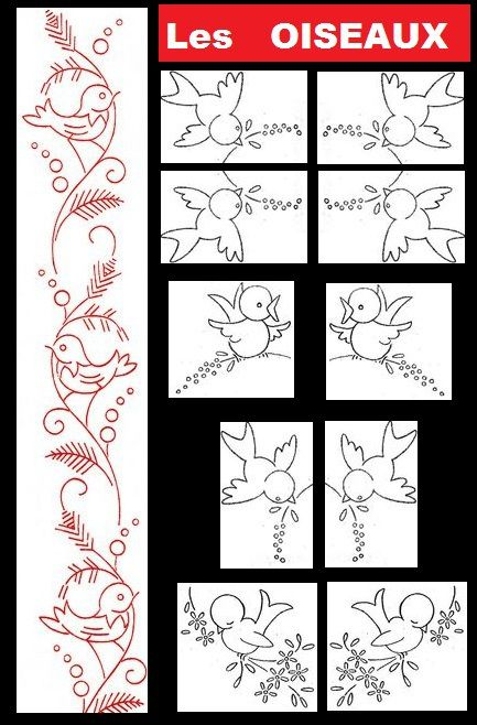 oiseau/bird/coloriage/template/gabarit/couture/broderie/PUNCH ART/CRAFT/DIY/TUTO/TUTORIEL/TUTORIAL/SCRAPBOOKING/STAMPING/CARTE/CARD/ANNIVERSAIRE/disney/princesse/BIRTHDAY/HAPPY/DECORATION/