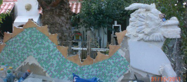 dragon/banc/game of throneplan de cuques/la maison du pere noel de plan de cuques/sculture/siporex/mosaic/mosaique/PUNCH ART/CRAFT/DIY/TUTO/TUTORIEL/TUTORIAL/SCRAPBOOKING/STAMPING/CARTE/CARD/BALLERINE/DANCER/DANSEUSE/ANNIVERSAIRE/BIRTHDAY/HAPPY/DECORATION/