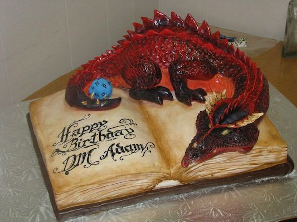 deco gateau dragon