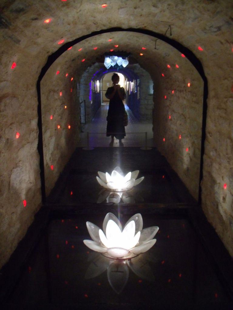 Autoportrait aux fleurs de verre.