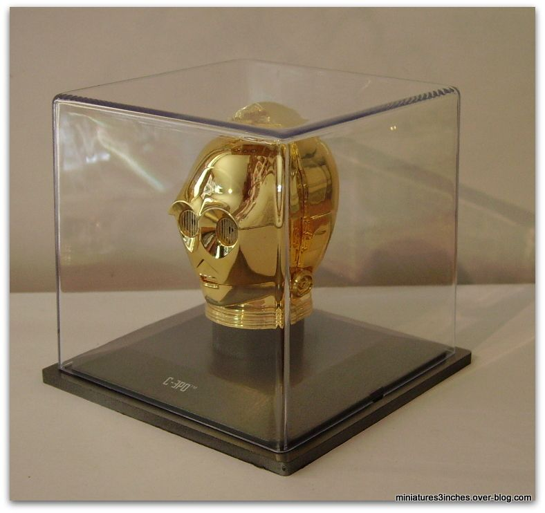 Casque &quot&#x3B;C-3PO&quot&#x3B;  by Altaya.