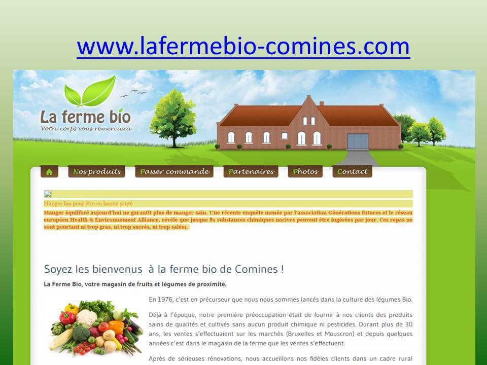 Collège de la Lys, La Ferme Bio, Carpe Diem Comines Belgique