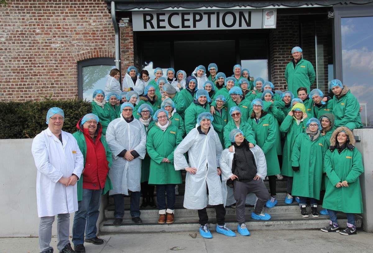 Semaine d'accueil des élèves italiens à Comines Belgique