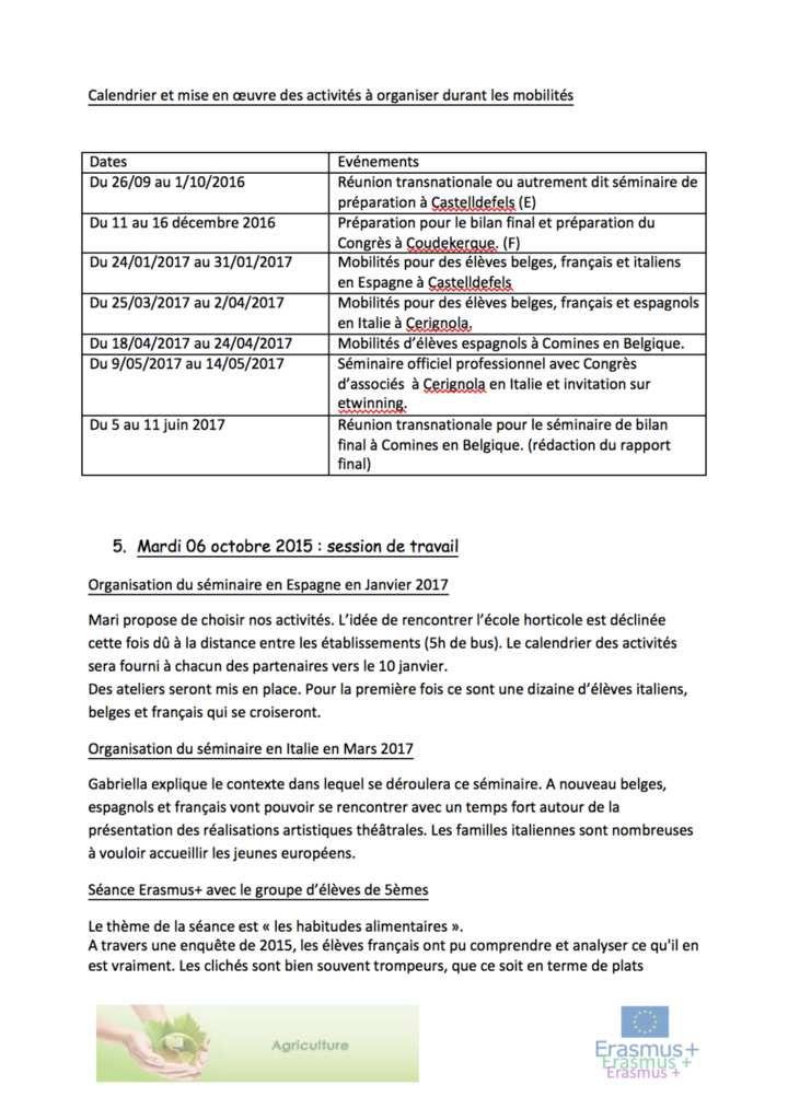 Réunion Transnationale en France