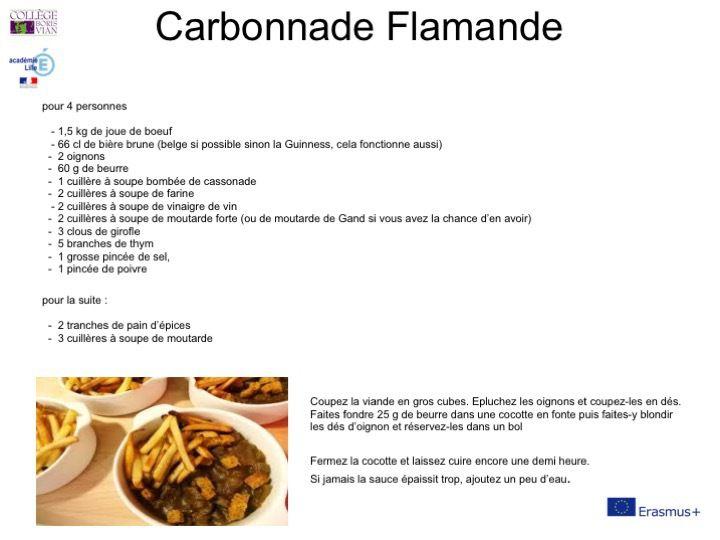 O7 A7 Recettes de cuisine française