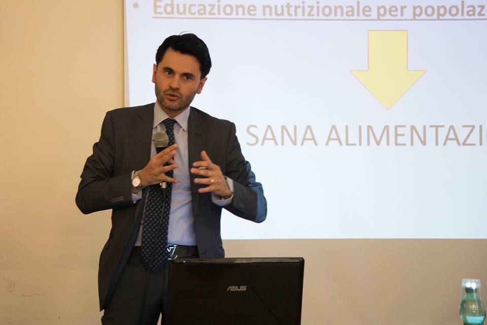 """dr. Giovanni Messina, Université de Foggia """"Sana alimentazione ed attività motoria"""""""