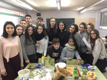 Élèves de 4ème d'ESO Collège Josep Lluís Sert