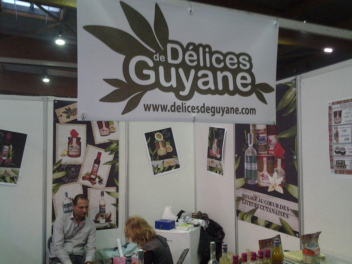 Salon de la gastronomie de l'Outre-Mer /Photos Isabelle Gratien, ww.afriquedomtomnews.com