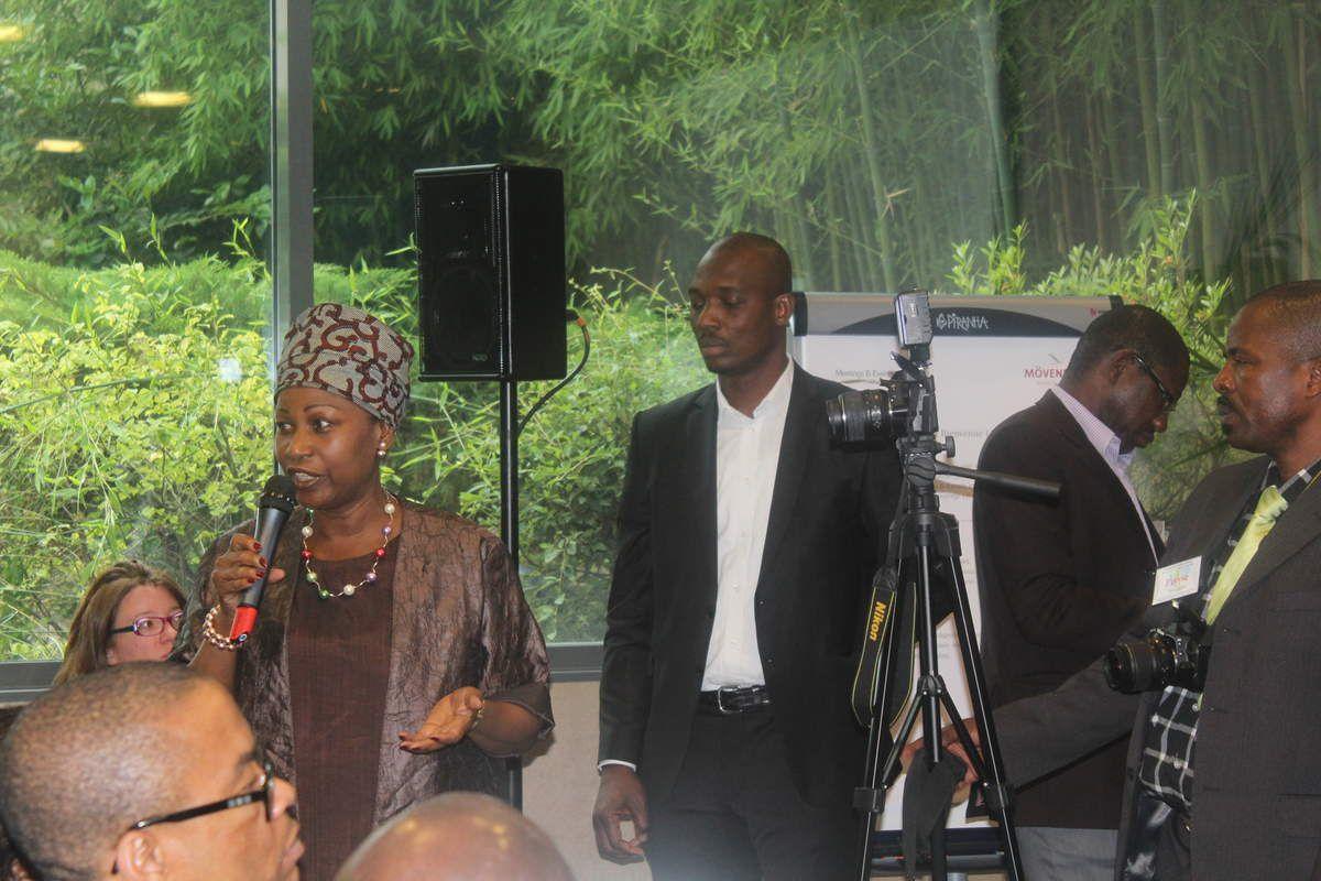 Conférence du 25 juillet 2015  à Paris &quot&#x3B;la Gouvernance Ouattara  à l'épreuve des enjeux économiques et des exigences démocratiques  en Côte d'Ivoire&quot&#x3B; organisée par M Aly Touré , porte parole de Convergence 2020