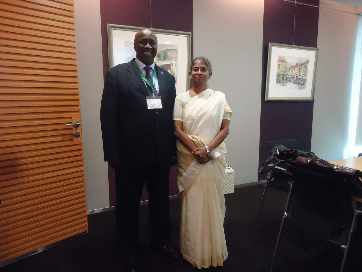 M. Aly Touré, Représéntant de la Côte d'Ivoire à Singapour