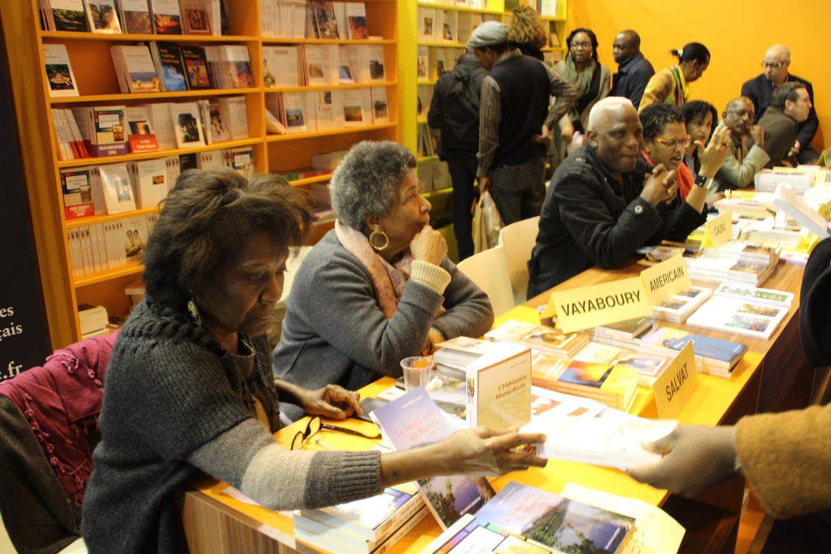 Salon du livre mars 2016 : le Congo Brazaville et l'Outre-Mer présents