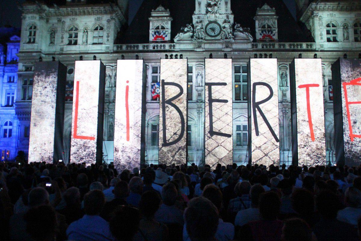 Cérémonie du 72ème anniversaire de la Libération de Paris sous le haut patronage de la Maire de Paris, Anne Hidalgo