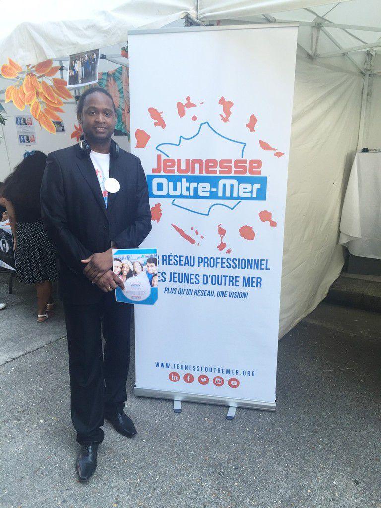"""Loic Iscayes, Président et co-fondateur de """"Jeunesse Outre-mer"""""""