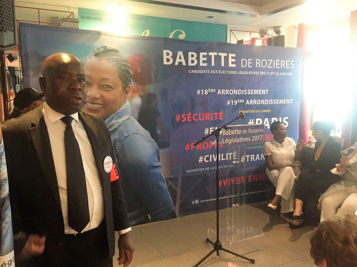 Législatives 2017 :dernière ligne droite pour la candidate  Babette de Rozières de la 17 ème circonscription de Paris 18ème