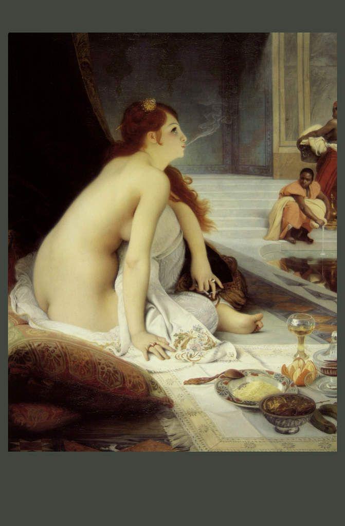 Jean Lecomte du Noüy : L'esclave Blanche. 1888