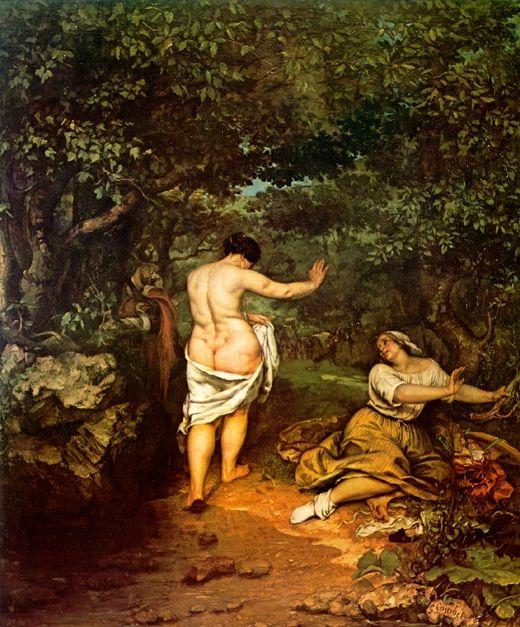 Gustave Courbet : le nu (dé)fendu