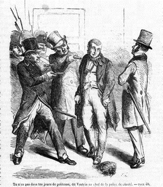 L'arrestation de Vautrin