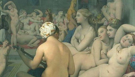 Jean - Dominique Ingres - Le bain turc 1862