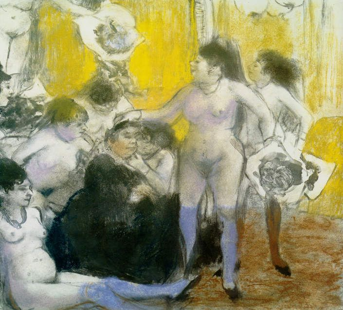 Degas - Femme s'essuyant (1888)