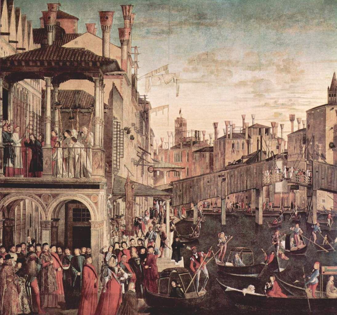 Venise, côté peintres