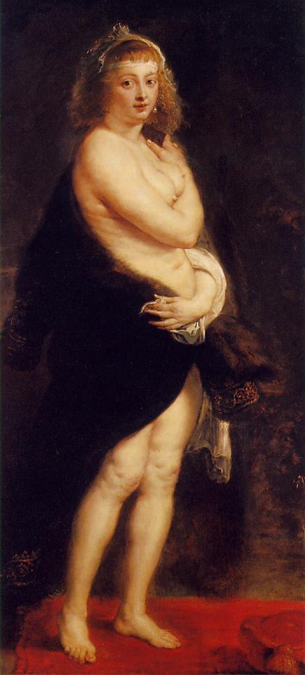 Hélène Fourment à la fourrure, 1638