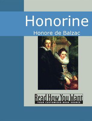 Balzac - Honorine