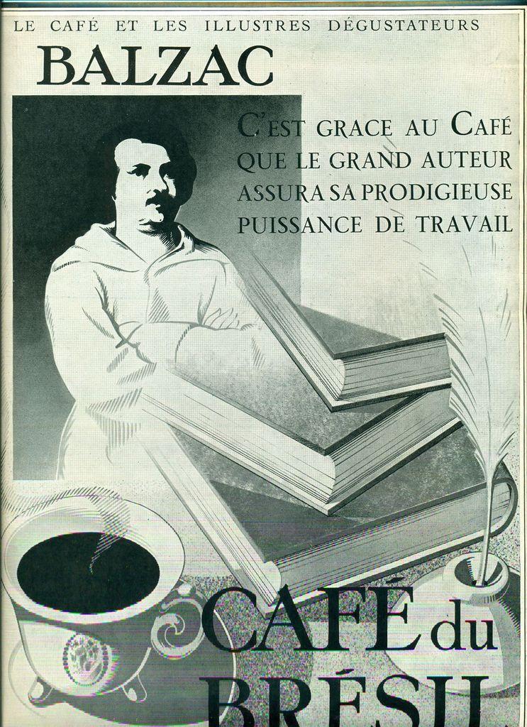 Prosateurs du monde et de Navarre, faites comme Balzac: buvez du café!