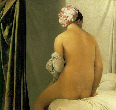 Bruno Braquehais (1856) - Ingres : La baigneuse de Valpinçon