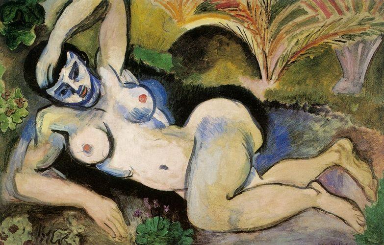 Matisse : Mes modèles, photographie, 1906 - Nu bleu de Biskra, 1906
