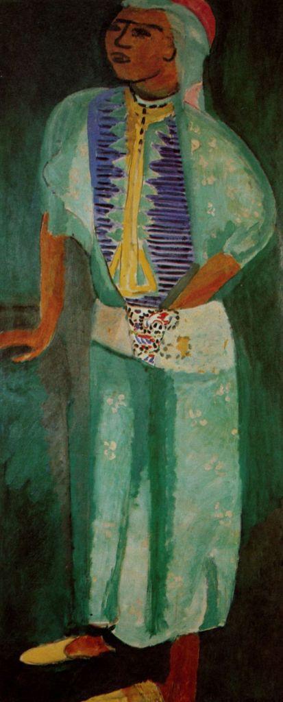 Matisse - Fatmah la mulâtresse, Tanger 1913