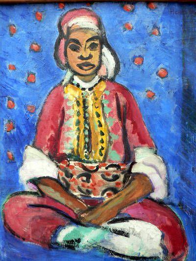 Matisse - La petite mulâtresse, Tanger 1913