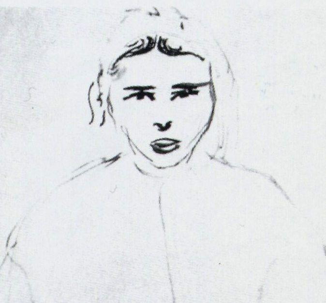 Matisse - Zorah (détail)