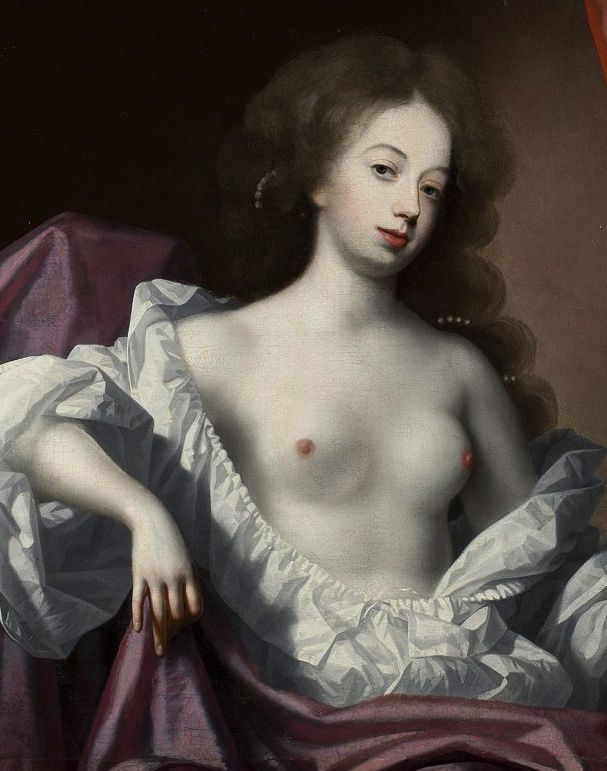 Peter Lely -  Une courtisane, vers 1780